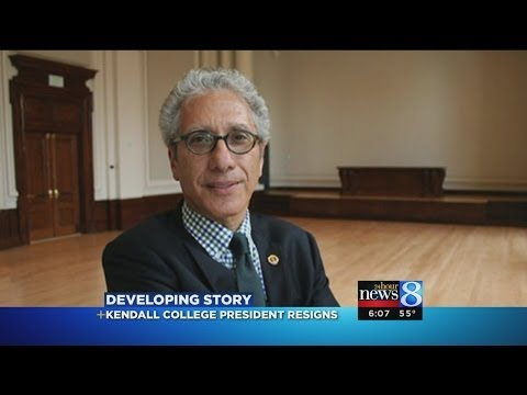Kendall College president resigns
