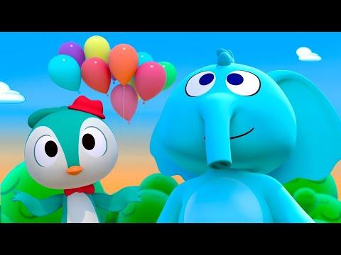 Canción Para Que Vuele Un Elefante - Canciones del Zoo 5 | El Reino Infantil