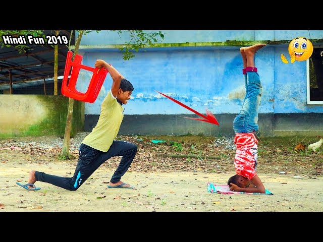 Indian New funny Video😄-😅Hindi Comedy Videos 2019-Episode-45--Indian Fun || ME Tv thumbnail
