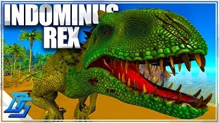 Indominus Rex Tame, First Primeval Tame ! - Ark Survival Evolved - Pt 17 (Pugnacia)