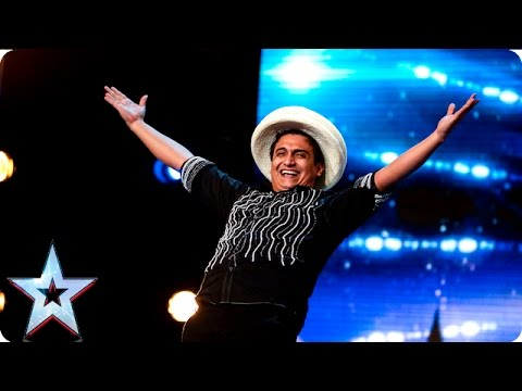Roberto has some serious ball skills | Week 2 Auditions | Britain's Got Talent 2016