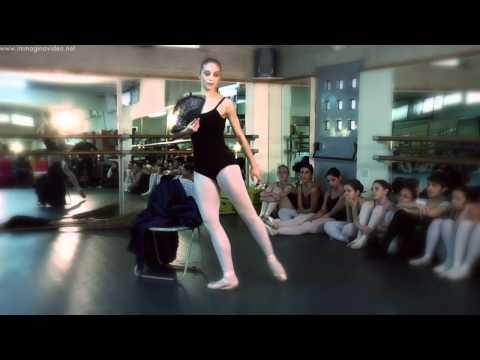 Percorsi di Danza – Napoli – Lezione di Repertorio con Monica Rega