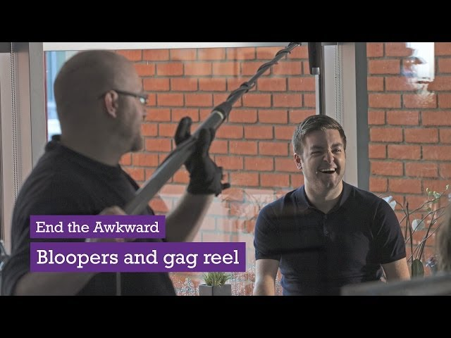 'End The Awkward' Bloopers and Gag Reel - from Scope's Alex Brooker TV Advert