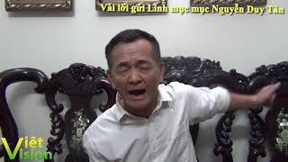 Trần Nhật Quang: Vài lời khuyên gửi linh mục Nguyễn Duy Tân