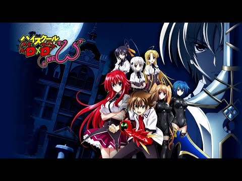 High School DxD New (Season 2) UNBOXING