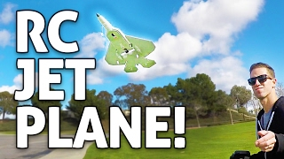 RC Jet Fighter!! Macfree F-22 Warbird Plane REVIEW