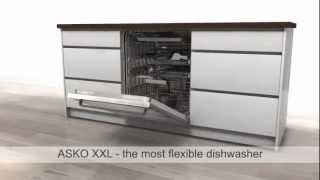 ASKO XXL DISHWASHER ANIMATION - Extra Tall Tank Stainless Steel Dishwasher