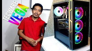 Tecware Vega RGB Chassis ft Spectrum ARC Fans Pinoy Unboxing & Quick Review