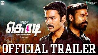 Download Kodi - Official Tamil Trailer | Dhanush, Trisha | Santhosh Narayanan 3Gp Mp4
