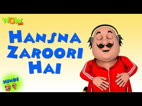 Hansna Zaroori Hai - Motu Patlu in Hindi WITH ENGLISH, SPANISH & FRENCH SUBTITLES thumbnail