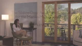 sliding door automatic control for the marvin ultimate multislide door