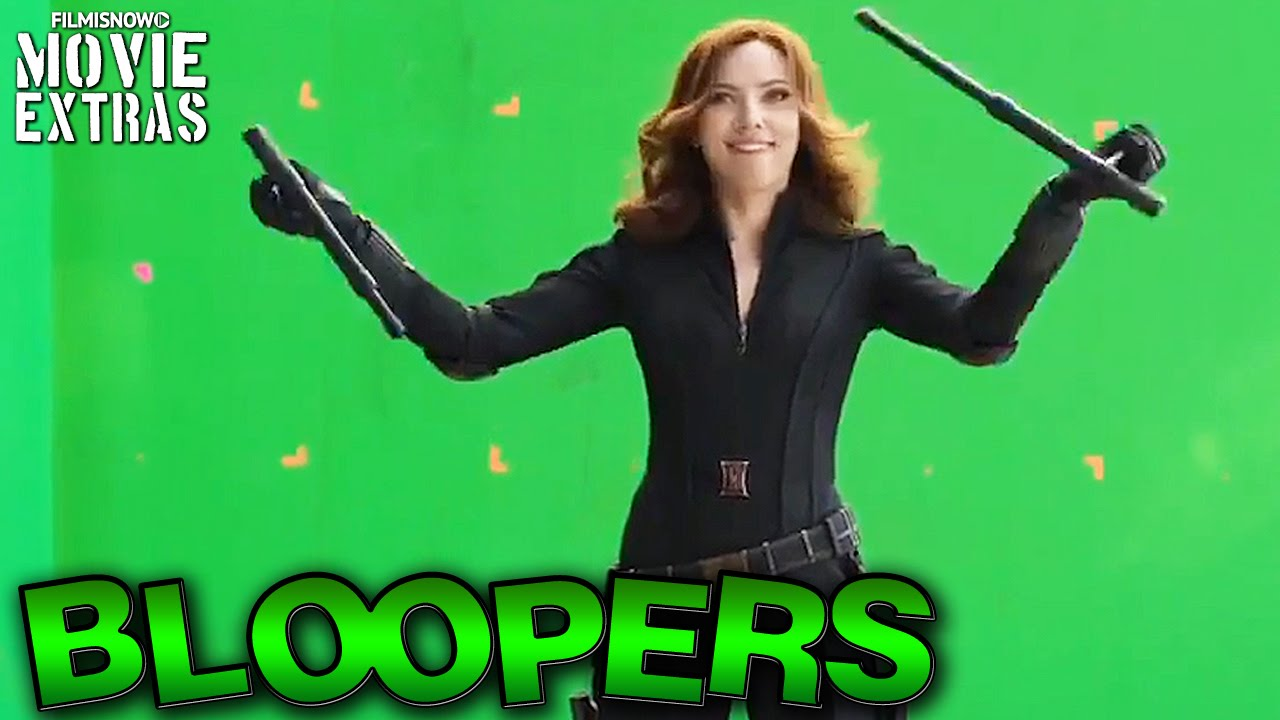 Captain America: Civil War Bloopers & Gag Reel [Blu-Ray/DVD 2016]