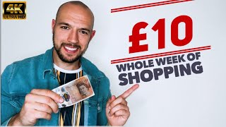 £10 WEEKLY FOOD SHOP | FAT LOSS on a budget | 2500 calories