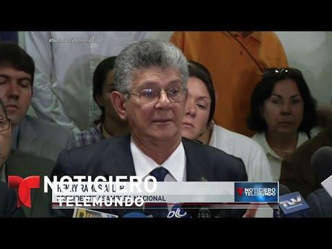 OEA busca reunirse para analizar situación en Venezuela | Noticiero | Noticias Telemundo