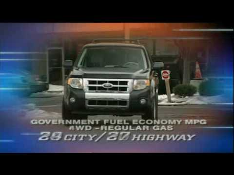 Motorweek Video of the 2008 Ford Escape Hybrid