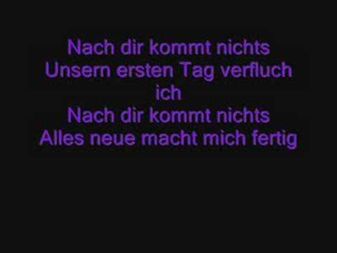 Tokio Hotel - Nach Dir Kommt Nichts