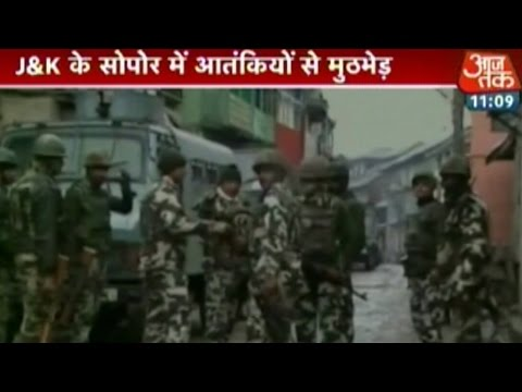 Army engages terrorists at Sopore