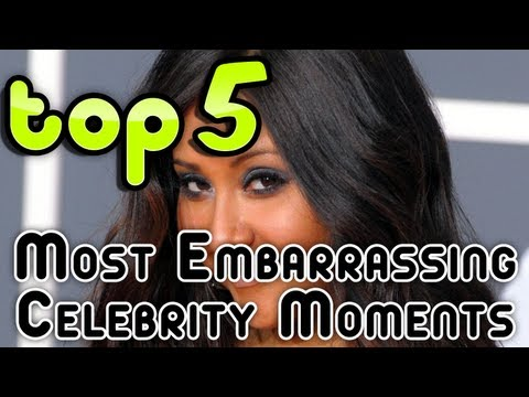 Top 5 Most Embarrassing Celebrity Moments