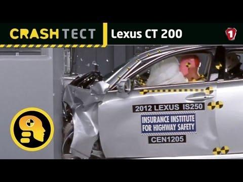 Lexus CT 200. Краш-тест