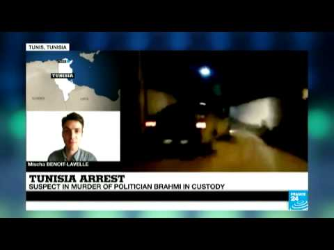 Tunisia: Suspect in murder of politician Brahmi in custody