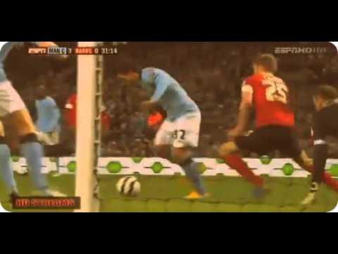 Man City Vs Barnsley 5-0 All Goals & Highlights 9.3.2013