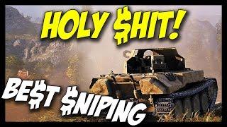 ► BEST SNIPING - 2,500 Base EXP, SKORPION G - World of Tanks Rheinmetall Skorpion G Gameplay