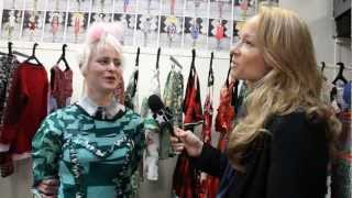 LOUISE GRAY INTERVIEW - F/W 2012 FASHION SHOW BY THE UNTITLED MAGAZINE
