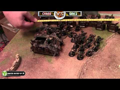Chaos Vs Orks Warhammer 40k Battle Report - Banter Batrep  Ep 23