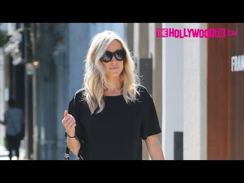 "Kristin Cavallari Gets Her ""Hair Did"" With Her Son At Nine Zero One Salon On Melrose Place 7.27.16"