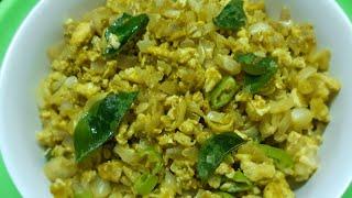 Tasty Egg Podimas Recipe