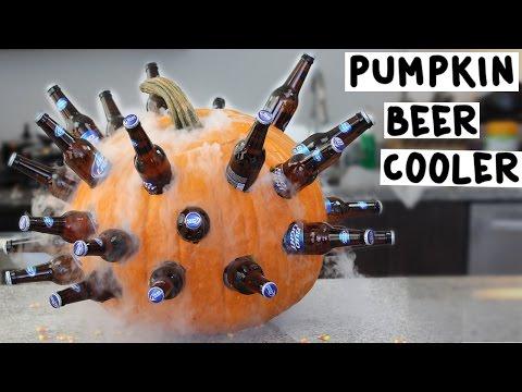 Pumpkin Beer Cooler - Tipsy Bartender