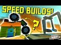 SPEED BUILD CHALLENGES with DISCORD (Ep 1) - Scrap Mechanic Gameplay