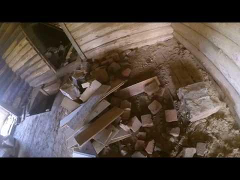 Фундамент под печь и немного о срубе.