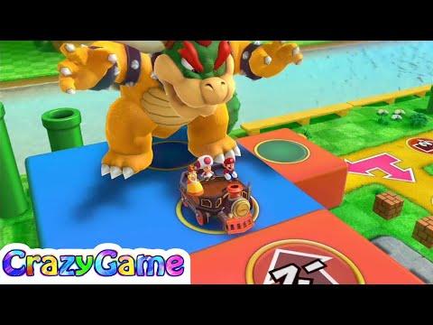 Mario Party 10 Bowser Party #8 Mushroom Park (Team Bowser)