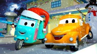 ทอม เจ้ารถลาก 🚗  เจ้ารถขนขนม   l การ์ตูนรถยนต์และรถบรรทุกพ่วงสำหรับเด็ก Truck Cartoon for Kids