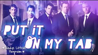Watch New Kids On The Block Put It On My Tab video