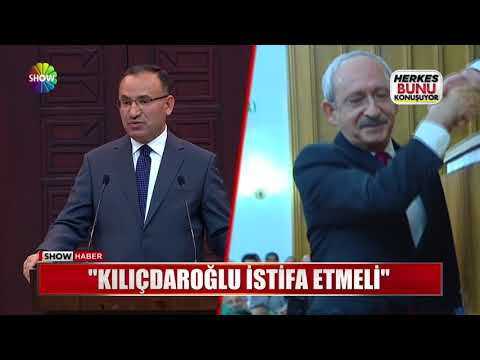"""""""Kılıçdaroğlu istifa etmeli"""""""