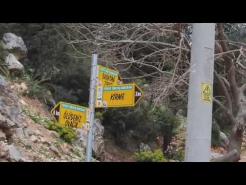 Day One: Hiking The Rugged Lycian Way - Ovacik to Faralya, Turkey