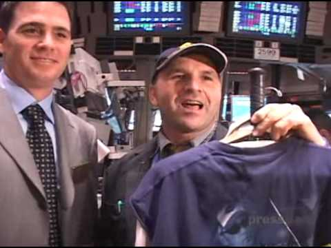 Jimmie Johnson Rings the Closing Bell at the NYSE