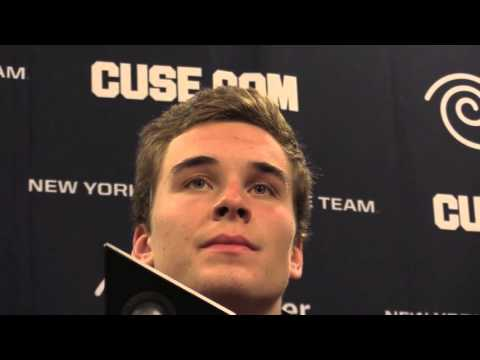 Syracuse football players Florida State post-game press conference - 10/31/15: Eric Dungey