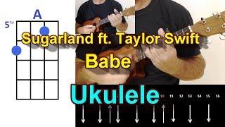 Download Lagu Sugarland Babe ft Taylor Swift Ukulele Cover Gratis STAFABAND