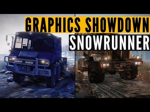 SnowRunner GFX SHOWDOWN: PC vs Xbox Series X vs Xbox One
