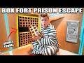 24 HOUR BOX FORT PRISON ESCAPE ROOM!! 📦🚔 Secret Tunnel, SPY GADGETS & More! thumbnail