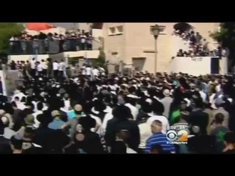 Demonstrators Demand Revenge As Families Mourn Murdered Israeli Teens