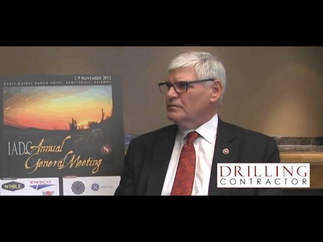Exclusive video: 2012 IADC Contractor of the Year Gregers Kudsk