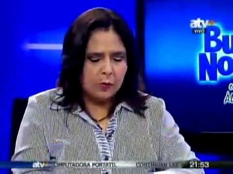 Entrevista a la ministra de la Mujer y Poblaciones Vulnerables Ana Jara en ATV+ - 06 Mar 2013