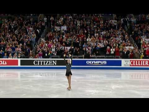 [HD Finnish Commentary] Korean Yuna Kim Dominates The 2009 WFSC