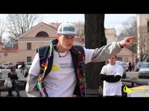 Miesto maratono pristatymas 2015