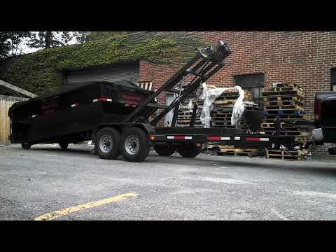Roll-Off Dumpster Trailer