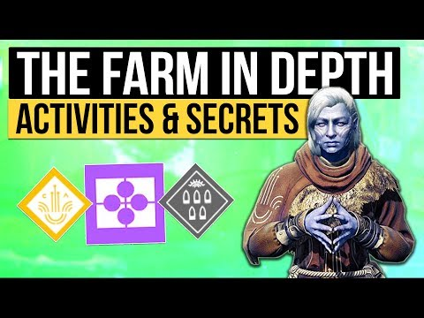 Destiny 2 | THE NEW SOCIAL SPACE! - Exploring The Farm, Secret Areas, Glitches & Eververse Returns!